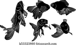 Koi carpa archivio illustrazioni 181 koi carpa immagini for Carpa pesce rosso