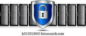 Shield Lock Servers with Shield