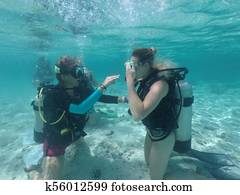Scuba dive course in Rarotonga Cook Islands
