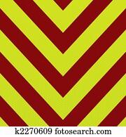 arrow ambulance stripe