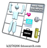 Build Your Ideal Employee - Model Kit