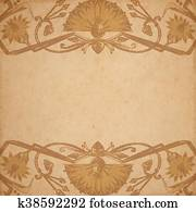 Egyptian parchment background