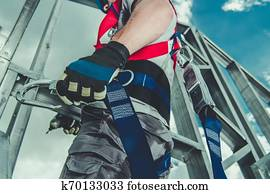 Height Job Safety Harness