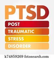 PTSD - Posttraumatic Stress Disorder acronym