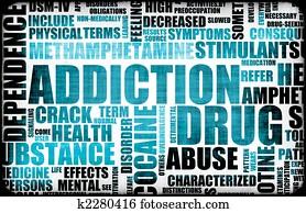 Blue Drug Addiction