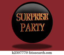 Birthday Surprise party Invitation