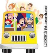 sonnenschein, bus
