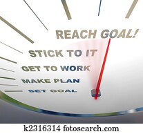 Speedometer - Reaching Your Goal