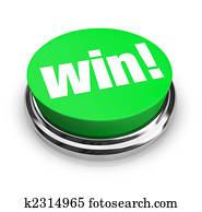 Win - Green Button