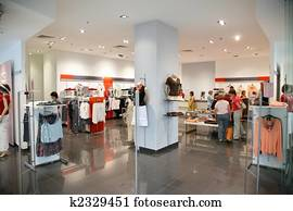 the store of the clothing