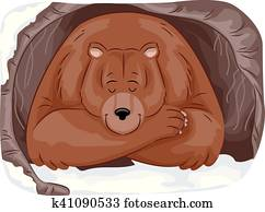 Bear Cave Clipart Our Top 324 Bear Cave Eps Images Fotosearch
