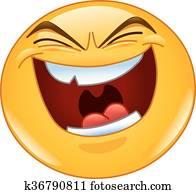 Evil laugh emoticon