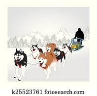 hund sledding
