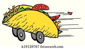 Fast Food Taco