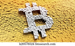 Pixelated Bitcoin