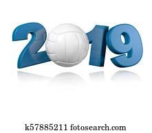 Volleyball 2019 Design