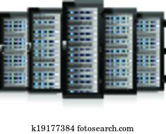 Server in Cabinets