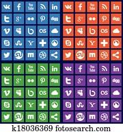 soziales, medien, heiligenbilder