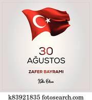 30 August Victory Day Happy Birthday (30 agustos zafer bayrami kutlu olsun)