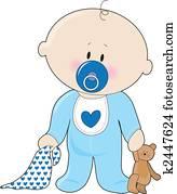 Dessin Bébé Garçon bébé garçon banque d'illustrations et clipart. 7 250 bébé garçon la