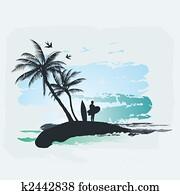 Palm tree Surf