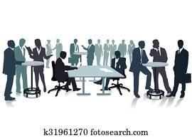 Konferenz Meeting