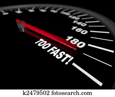 Speedometer - Going Too Fast