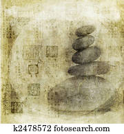 Stones and Chinese Seals