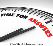 Time for Answers - Clock