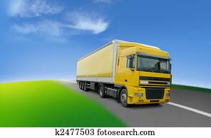 Truck - transport and logistics around the world