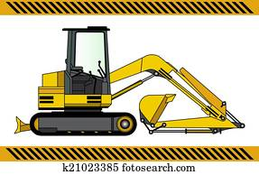 Excavator Clipart and Illustration. 9,261 excavator clip ...
