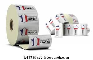 Made In France, Stickers