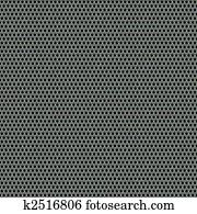 Steel Mesh Pattern