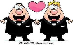 Cartoon Gay Marriage