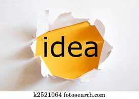 idea and creativity