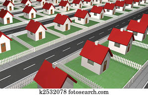 Houses - Residential Neighborhood