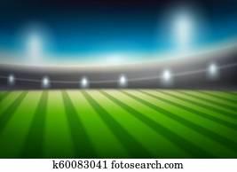 a, blure, stadion, hintergrund