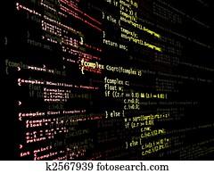 Digital program code