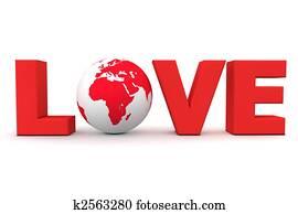 Love World Red