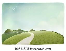 countryside trail