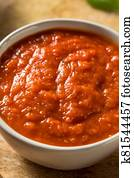 Fresh Organic Basil Tomato Pizza Sauce