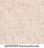 Bathroom or kitchen tiles texture