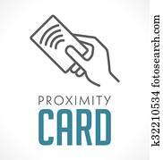 Logo - Proximity Card - Wireless