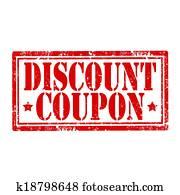Discount Coupon-stamp