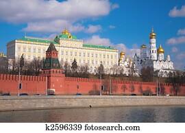 Kremlin palace and churches