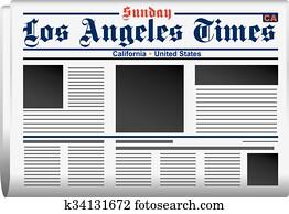 Newspaper Los Angeles Times