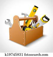 Carpenter toolbox poster