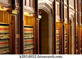 Law book library