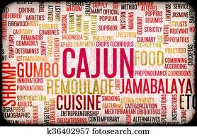 Cajun Food Menu
