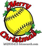 schlagball, frohe weihnacht